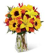The Harvest Heartstrings Bouquet